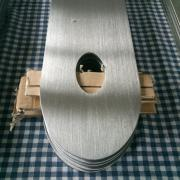 Hairline polishing of stainless steel sheet